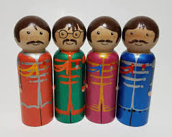 beatles cake toppers beatles cake topper etsy