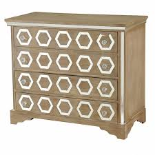 Picture Of Octagon 4 Drawer Octagon Inlay Mirror Cabinet At Home At Home