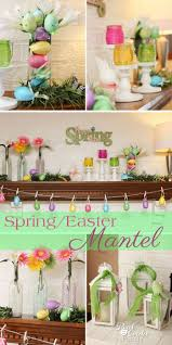 best easter decorations 33 best easter fireplace decor images on easter decor