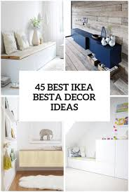 Besta Ikea Hack by 45 Ways To Use Ikea Besta Units In Home Décor Digsdigs