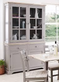 fully assembled large glass display cabinet kitchen dresser