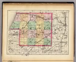 State Of Michigan Plat Maps map of van buren county michigan walling h f 1873