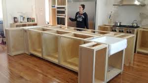 make kitchen island how to build a kitchen island with cabinets make roll away hgtv
