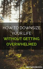 how to downsize how to downsize your life without getting overwhelmed microabode