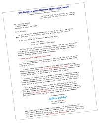 sample network marketing letters jeffrey dobkin
