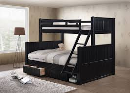 Black Twin Bed Black Twin Over Queen Bunk Bed The Twin Over Queen Bunk Bed