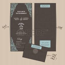 Send And Seal Wedding Invitations Vintage All In One Wedding Invitation Seal And Send Card Royalty