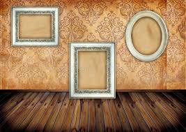 frames on wallpaper stock illustration image of abstract 27819514