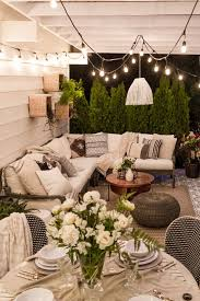 Patio Backyard Ideas by A Multipurpose Patio Reveal With Dining And Lounging Areas Room