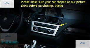 bmw 1 series centre console aliexpress com buy interior for bmw 1 series 116i 118i f20 2012