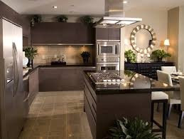 kitchen design large kitchen designs charming brown rectangle