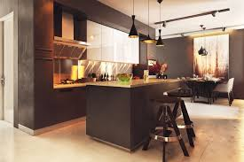 Neutral Colored Kitchens - two homes with elegant decor and neutral colors