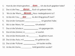 more work with relative pronouns in german www germanforspalding