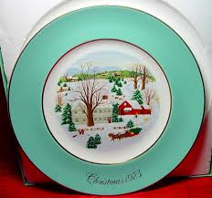 christmas plate christmas plate christmas memories series collectible plates by avon