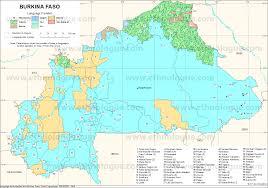 World Language Map by Burkina Faso Ethnologue