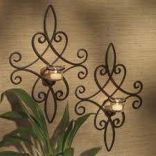 Metal Sconces Wall Sconces Candles Wrought Iron Foter