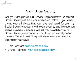 social security help desk ticket portal access verification process for adding extra security