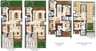 duplex house plans in 300 sq yards home act