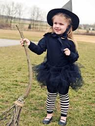 diy girls witch costume for halloween hgtv