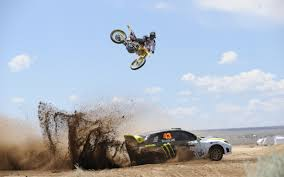 download freestyle motocross monster energy stunts subaru car and motocross bike hdwallpaperfx