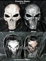 diamond tactical full face protection ghost balaclava mask skull shoulder armor google search comics pinterest