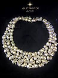 pearl necklace with diamond images Best 25 pearl and diamond necklace ideas south jpg