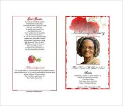 death announcement templates sample death notice 14 documents in