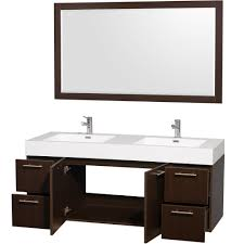 wyndham collection amare 60 inch double bathroom vanity in