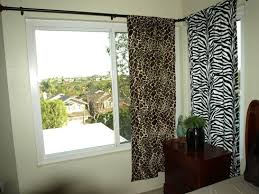 Zebra Curtain Panels Animal Print Curtains Leopard Zebra Western Curtains Cow Pony