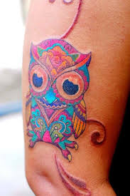 upper arm tattoos for girls 51 owl tattoos on arm