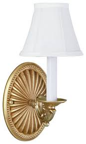 Single Light Wall Sconce Wall Sconces With Shades The Drawing Room Interiors As 2016