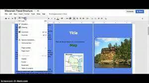 docs travel brochure template docs trifold template tri fold brochure template