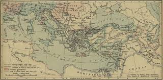 Old Map Of Europe by Map Of The Fourth Sixth Seventh And Eighth Crusade Maps