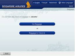 kiosk check in for singapore airlines flights