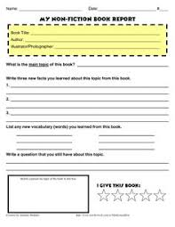 science report template ks2 homeschool printable report card template about their book