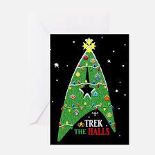star trek greeting cards cafepress