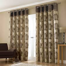 Curtains Ring Top Buy Curtains Buy Brown Poppy Curtains