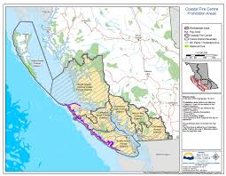Wildfire Map Bc Today by Campfire Ban Rescinded In Coastal Fire Centre My Comox Valley Now