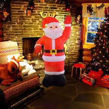 8 ft santa claus decoration seasonal