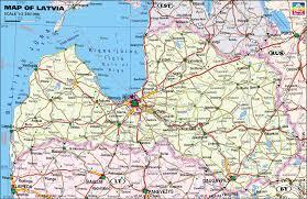 Baltic States Map Maps Of Latvia Riga And Oldcity Vecriga Car Rental Baltic