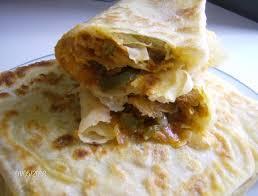 recette de cuisine kabyle m hadjebs crêpes feuilletées kabyles farcies cuisine en partage