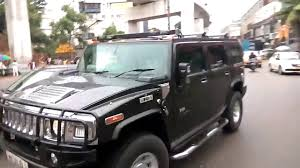 monster hummer the off road vehicle hummer h2 in india black monster