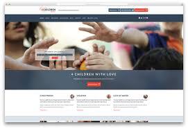 simple free web templates wordpress themes for non profit charity organizations websitelot com 1482666922 1441 ren charity website template