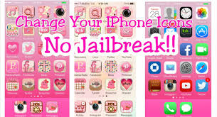 iphone themes that change everything how to customize your iphone 6 icons no jailbreak youtube