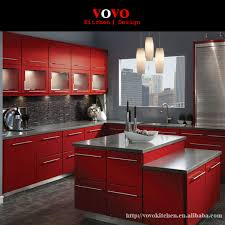 Online Get Cheap Dark Kitchen Cabinets Aliexpresscom Alibaba Group - Red lacquer kitchen cabinets