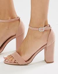 wedding shoes new look изображение 1 из туфли на блочном каблуке из 2 частей new look