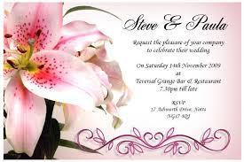 free wedding invitations sles wedding invitations sles free wedding invitation
