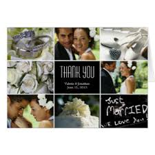 collage thank you cards invitations greeting photo cards zazzle