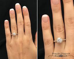 gold halo engagement rings vr1043 gold halo ring bespoke diamonds