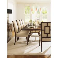 lexington dining room set lexington furniture 458 880 01 mirage leigh side chair homeclick com